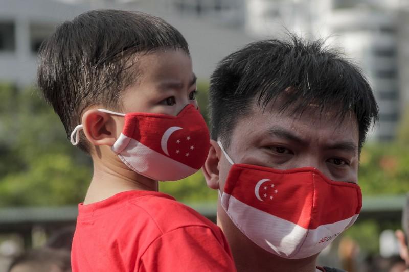 新加坡本日新增175例確診。(歐新社)