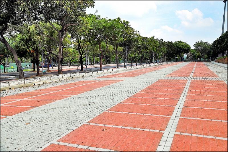 嘉市KANO園區棒球場停車場部分改善完成,提供嶄新且舒適的停車空間。 (嘉義市政府提供)