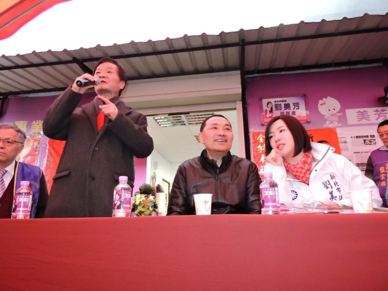 新北市議員劉美芳(右)今日指證,已故的父親、前台灣省議會議長劉炳偉(左)也是盛唐中醫的患者。(資料照)