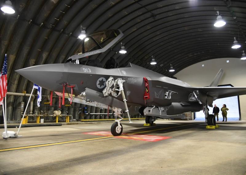 以色列第二支F-35I中隊投入部署,具備完全作戰能力。圖為F-35I。(歐新社)