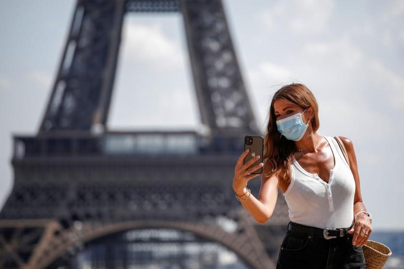 巴黎強制戴口罩分區超精細 遊客根本搞不清楚
