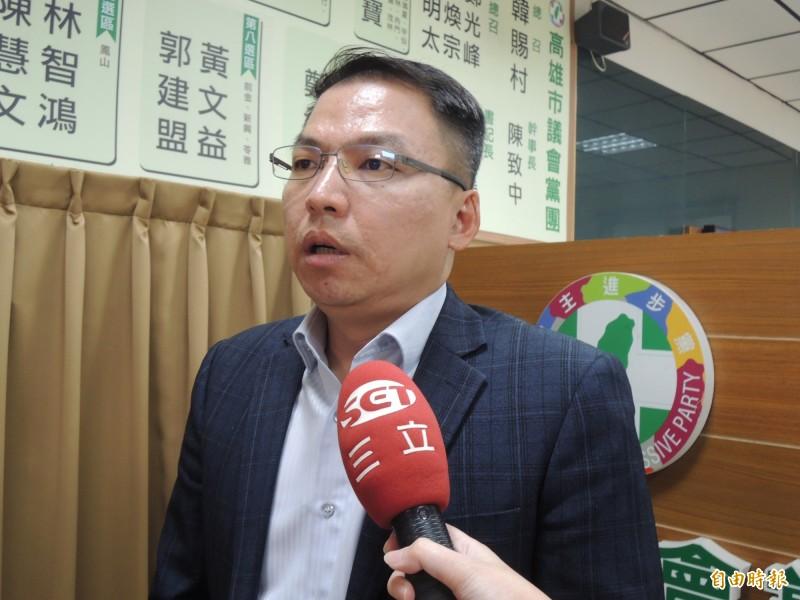 陳其邁發言人黃文益指出,國民黨本身的貪腐紀錄才真的是罄竹難書,為什麼國民黨自己不知自我檢討,建議應先把切結書拿給張麗善縣長簽。(資料照)