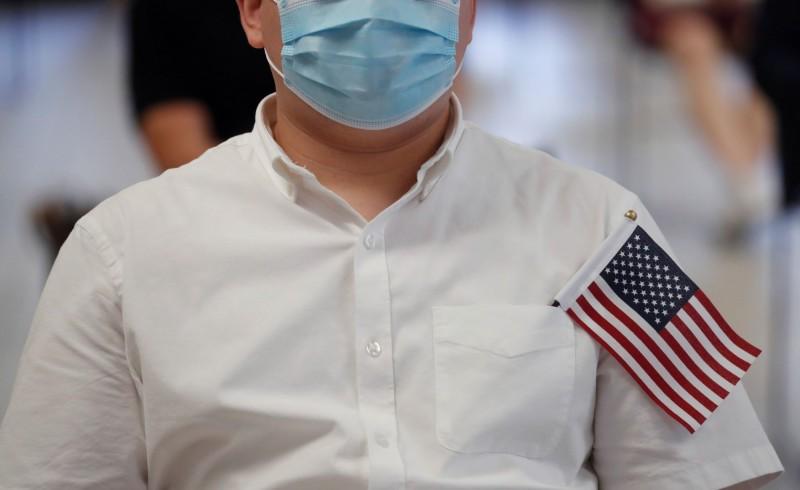 一項研究報告顯示,在今年上半年,已有5816名美國人放棄美國國籍。(路透)