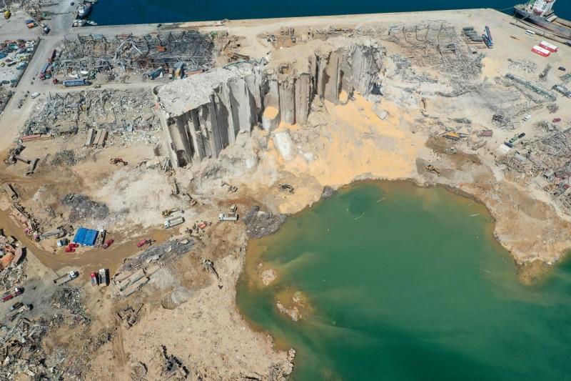 黎巴嫩貝魯特大爆炸讓硝酸銨的儲放安全問題成為關注焦點。(法新社)
