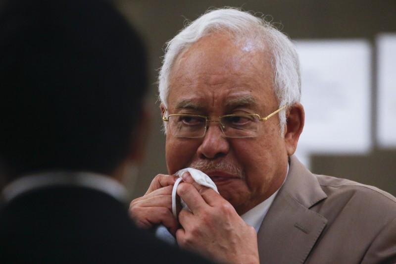 馬來西亞前首相納吉(見圖)涉入「一馬弊案」,觸犯洗錢等7項罪名,上月底遭判刑入獄12年並繳交2.1億令吉罰款。(歐新社)