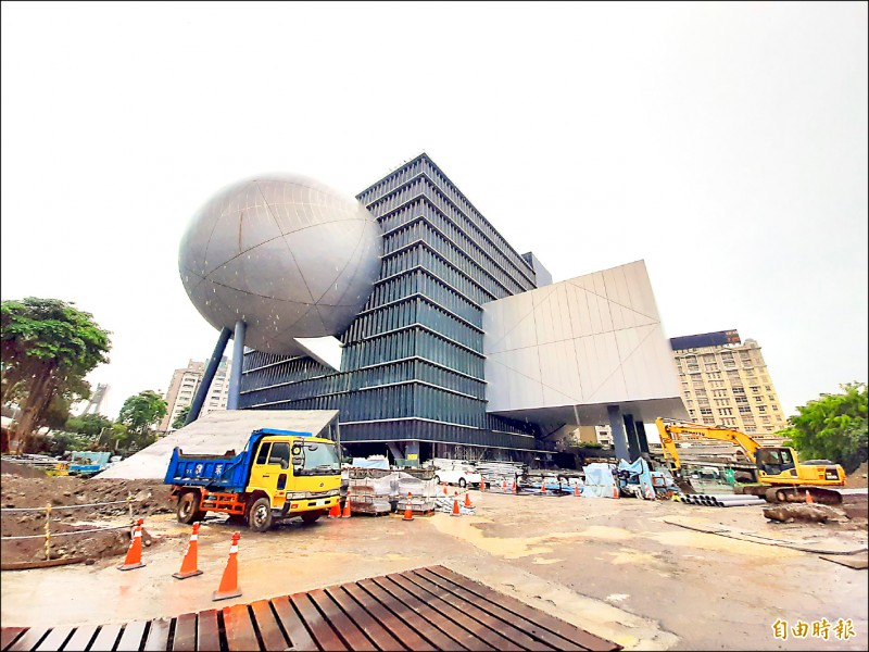 台北表演藝術中心外觀。(記者郭安家攝)