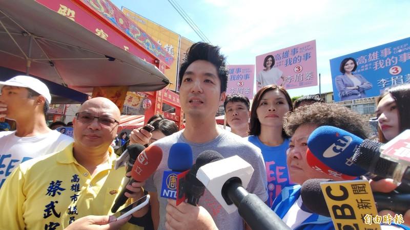 國民黨立委蔣萬安表示,支持香港不能單靠執政者當下的善意,修訂周延、具體、明確的港澳條例,是大家可以努力的方向。(記者陳文嬋攝)