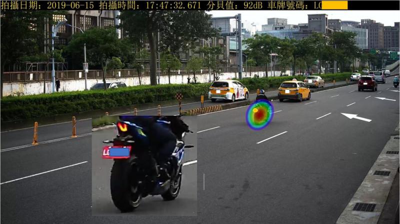 對於「聲音照相」科技執法取締高噪音的汽機車,環保署說,基於「抓吵」的精神,只要車主無「不當操作駕駛或不當改裝」,就不會有超標被罰疑慮。(環保署提供)