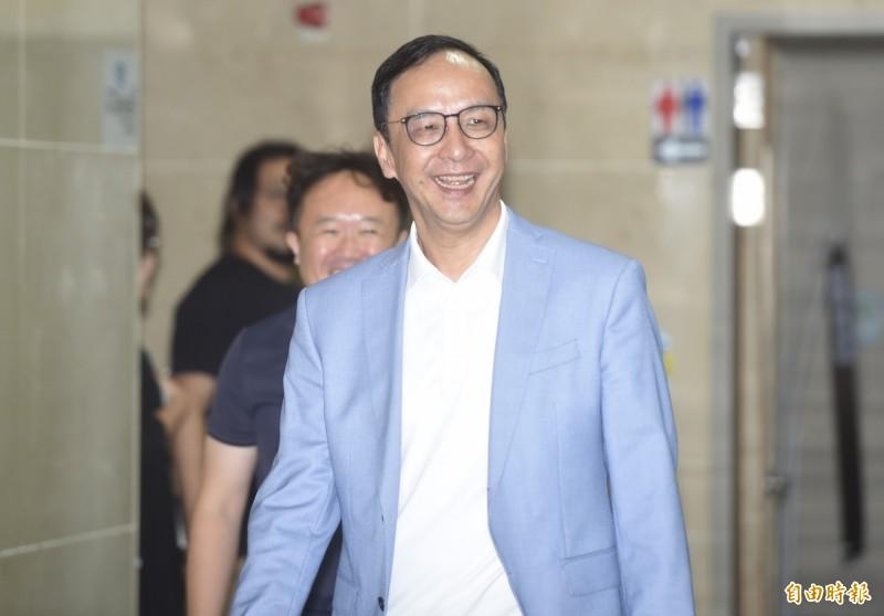 前國民黨主席朱立倫將回台大會計系開課。(記者簡榮豐攝)