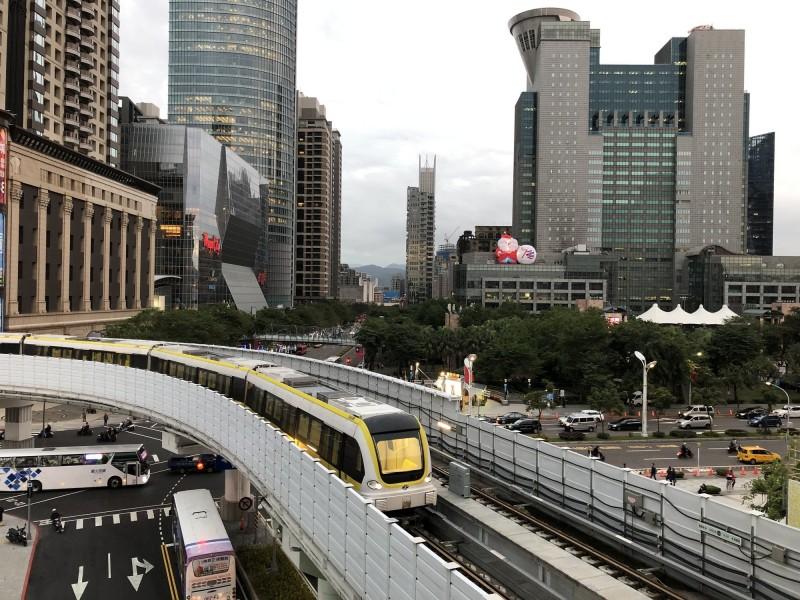 捷運環狀線7月的日運量已超過4萬人次。(新北市捷運工程局提供)