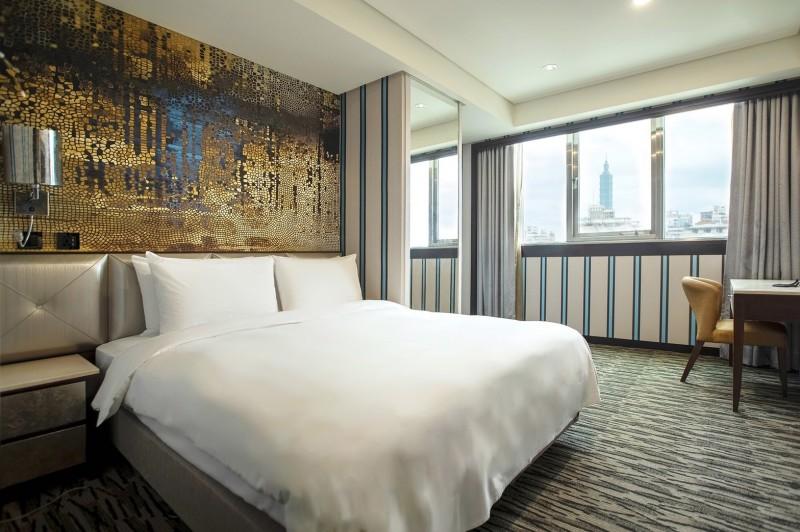 台北市防疫旅館目前41家、2619間房間。(台北市觀光傳播局提供)