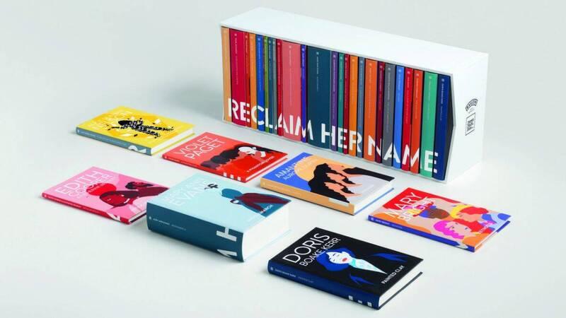 英國女性小說獎設立25年,貝禮詩委託研究人員,挑選25部過去以男性筆名見世的女作家作品,如今重新出版。(圖擷自女性小說獎官方推特)