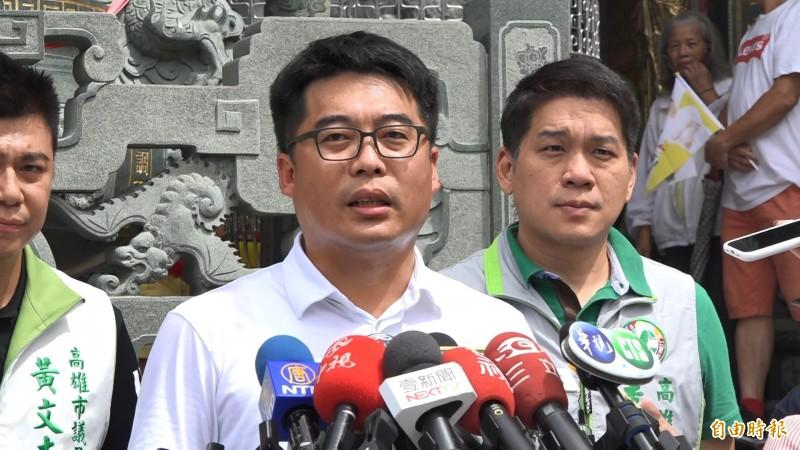 陳其邁競選團隊發言人、高雄市議員邱俊憲反批說,國民黨才是眾所皆知的貪腐集團,過去涉弊相關人士一大卡車。(資料照)