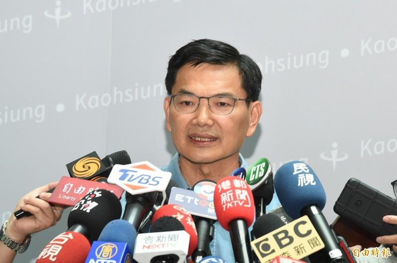 出席統派活動受質疑,吳益政(見圖)稱沒有其他資訊知道自己參加的是一場「統派」活動。(資料照)
