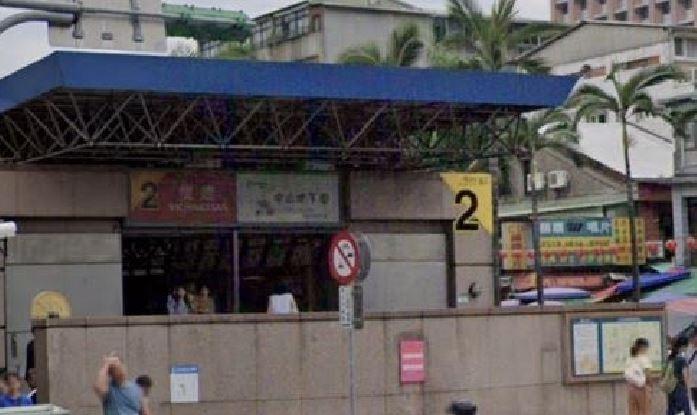 台北捷運雙連站。(記者劉慶侯翻攝自Google Map)