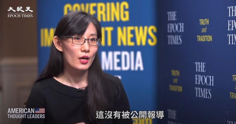 逃亡美國的中國病毒學家閻麗夢近日受訪再爆料,即便世界衛生組織去過武漢調查,他們也沒有進過武漢病毒實驗所,甚至也不被允許從華南海鮮市場獲取樣本。(擷取自大紀元YouTube頻道)