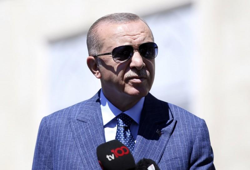 以色列與阿拉伯聯合大公國簽署和平協議後,土耳其總統艾爾段今天揚言關閉在阿布達比的大使館,並中斷與阿聯大公國的外交關係。(美聯社)