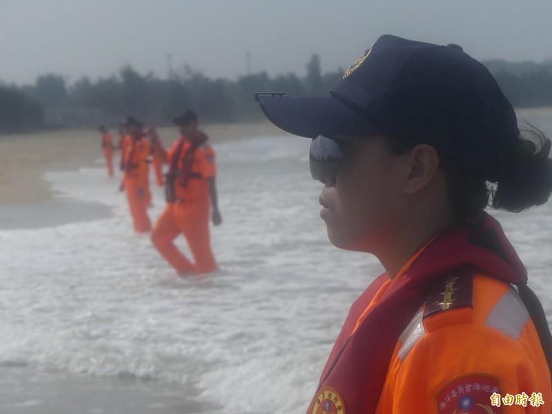 金門2020搶灘料羅灣活動即將登場,水域安全人是第一考量。(資料照,記者吳正庭攝)