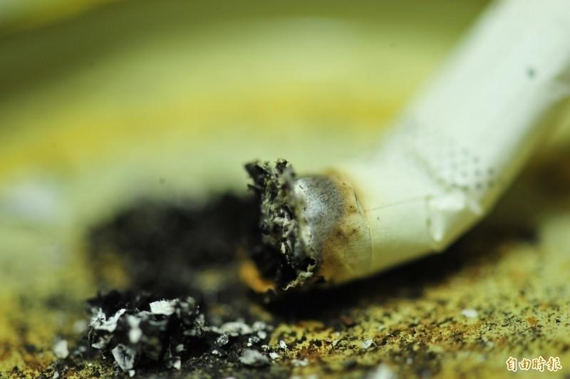 屋主找到菸蒂,卻無法當成證據。示意圖。(資料照)☆自由電子報關心您,吸菸有害健康☆