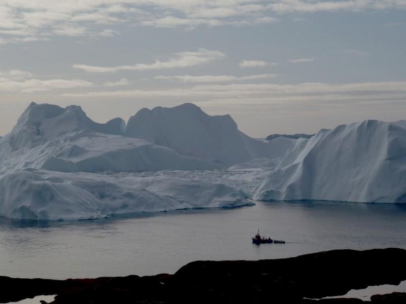 一項最新的研究指出,格陵蘭冰層可能已經融化到無法挽回的地步。(路透)