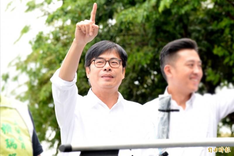 目前陳其邁已獲超過67萬票,跨過52萬票的過半選票門檻,篤定當選高雄市長。(資料照)