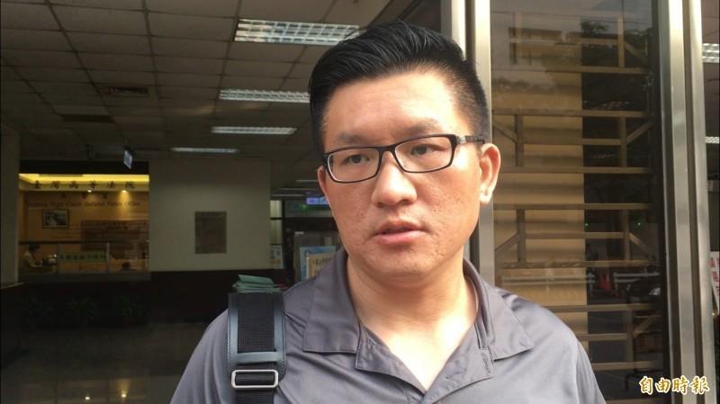 「金色力量」黨主席、前台北市議員童仲彥對於「性話題」毫不避諱,更致力於推動性專區。(資料照)