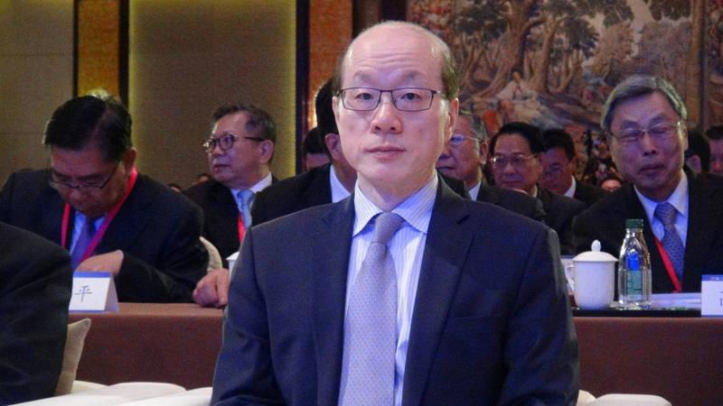 劉結一(見圖)喊話,要台灣年輕人為了「民族大義」要「戰勝邪惡」。(中央社檔案照)