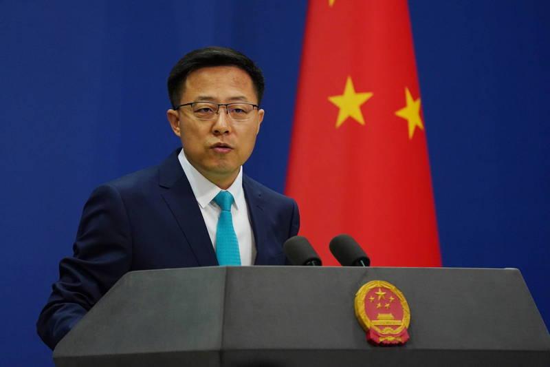 針對我國政府機關遭中國駭客組織駭入事件,中國外交部發言人趙立堅今天說,這是民進黨的惡意指控,還說中國最在意網路安全。(歐新社)