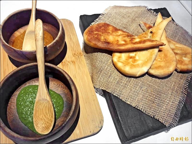 由新加坡主廚林恬耀領軍的JL Studio獲得二星,其料理具有南洋風味。(記者歐素美攝)