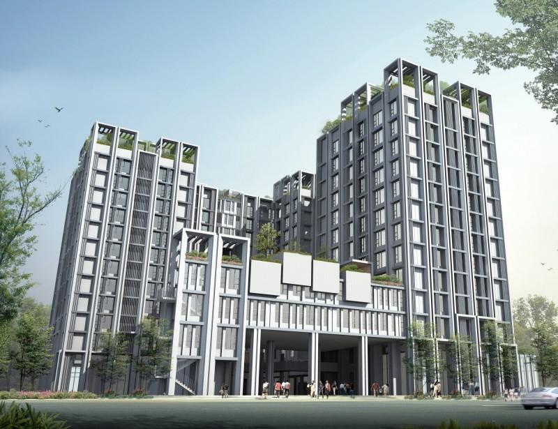 台中市府公佈各社宅興建狀況,強調會全力完成設定目標。(圖取自市府網站)