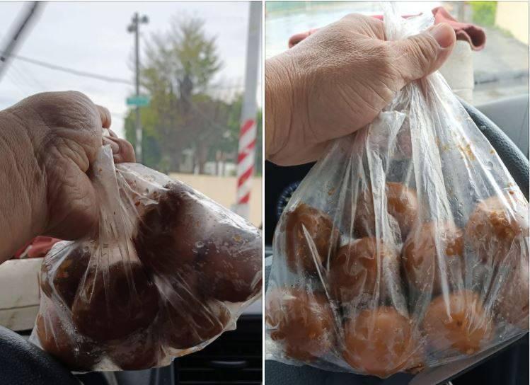 有網友在菜市場買了一袋9顆滷蛋,竟然只要20元,讓他忍不住驚呼「也太佛心了!」其他網友見狀也傻眼,直呼「這根本虧錢了吧!」、「是不是算錯了」。(圖擷取自臉書「爆廢公社公開版」)
