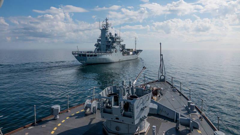 《國家利益》國防作家卡萊布.拉爾森認為,今年結束之前,美艦航經台海次數可能會超過2016年的紀錄。美國海軍示意圖。(歐新社檔案照)