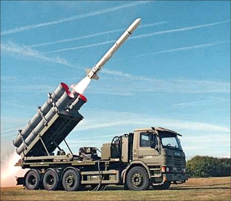 軍方決策官員昨證實,我國將向美國採購的岸置魚叉飛彈,預算將會達到台幣八一○億元左右。(圖取自Boeing Defense推特)