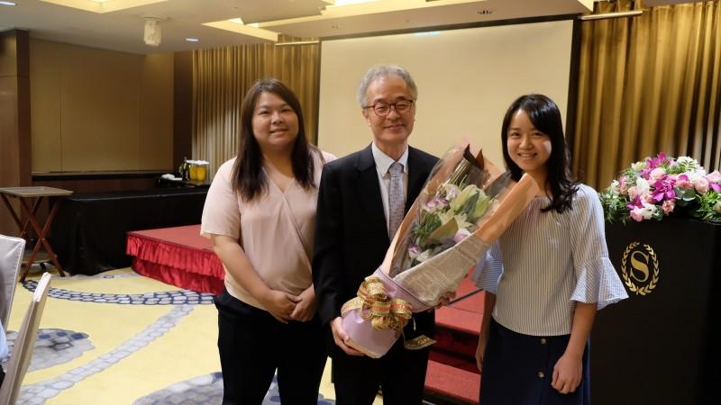 清華大學今年特聘的玉山學者日籍教授北森武彥今年2月底到清大,見證及親歷台灣的防疫措施,他在返回日本探親時,接受日本媒體採訪,大讚台灣的防疫工作很成功,且是全國上下團結,更說在台灣很安全。(記者洪美秀翻攝)