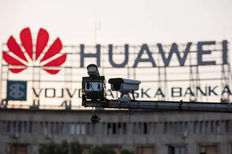 美國在台協會(AIT)粉專舉辦網路安全小測驗來增進網友對5G安全的認識,並直指中國企業華為。華為示意圖。(路透)