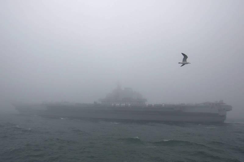 中國解放軍近來陸續發布軍演消息,範圍遍及黃海、南海、渤海。(美聯社)