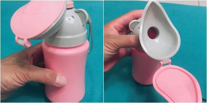 1名人夫發現妻子買的「尿尿神器」,在網路PO文抱怨。(圖取自爆怨公社)