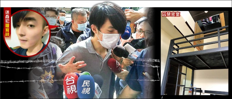 檢警前天逮捕羅育祥,雄院法官認定有逃亡之虞,裁定收押。(資料照、取自臉書)