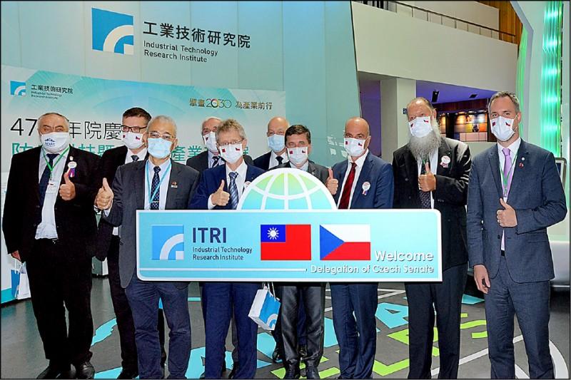 捷克參議院議長韋德齊訪台,中國放話要報復,歐洲各國群情激憤。(工研院提供)