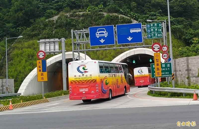 蘇花改規劃大客車優先道,縮短大客車行車時間。(資料照)