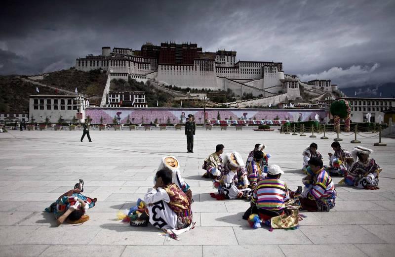 消息人士指出,西藏民眾多把解放軍視為入侵者。(路透檔案照)