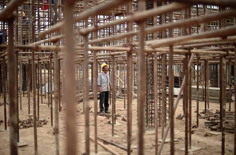 中國有數百萬勞工被滯留在非洲。(法新社資料照)