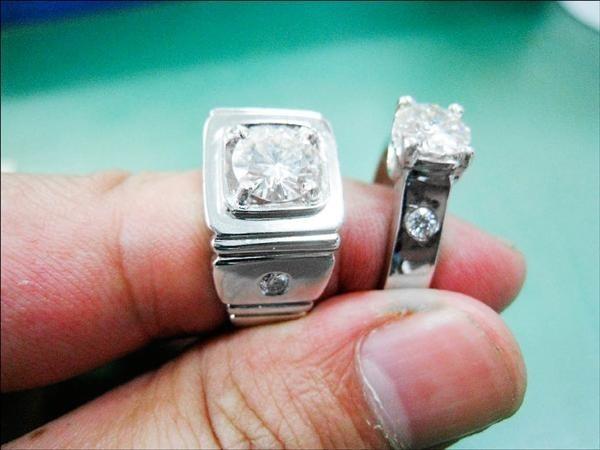鑽石博士鑑定分不清摩星石和真鑽的差別,害銀樓損失70萬。示意圖。(資料照)