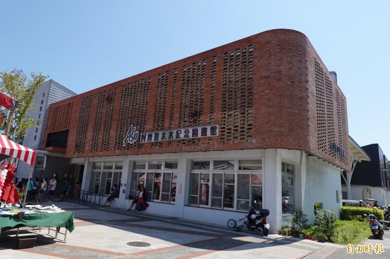 冬天阿瘦圖書館開館5年來,扮演冬山鄉知識火車頭角色。(記者江志雄攝)