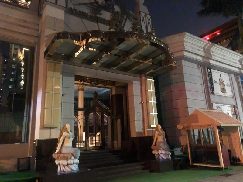 位在台中市南屯區的金錢豹系列酒店「天上人間」(也稱汶南店)。(記者許國楨翻攝)