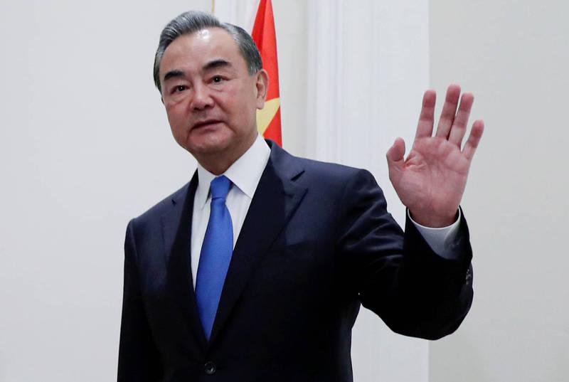中國外交部長王毅8日發起「全球資料安全倡議」。(路透資料照)