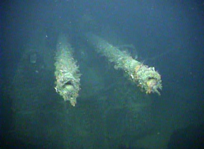 80年前沉沒的德軍「卡爾斯魯厄號輕巡洋艦」現身。(路透)