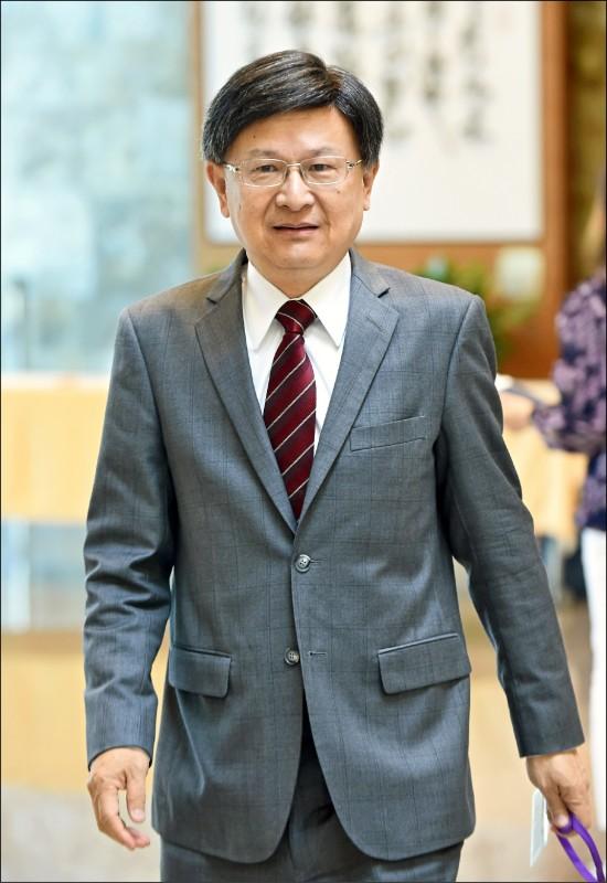 公務員懲戒委員會前委員長石木欽。(資料照)