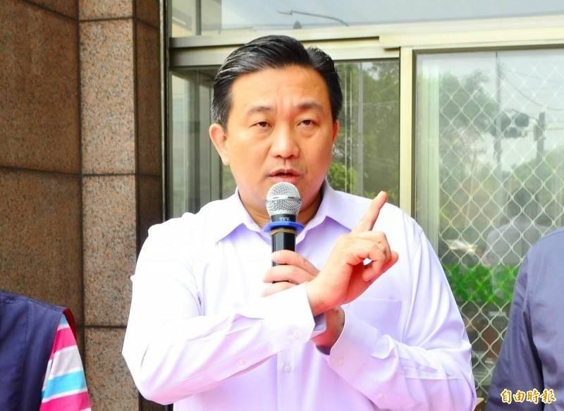 王定宇痛批國民黨甘當中國遮羞布,配合統戰用的「海峽論壇」。(資料照)