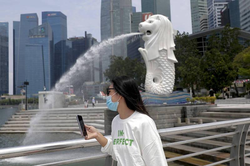 台女在新加坡故意對保全打噴嚏,遭當地判處監禁。(歐新社)